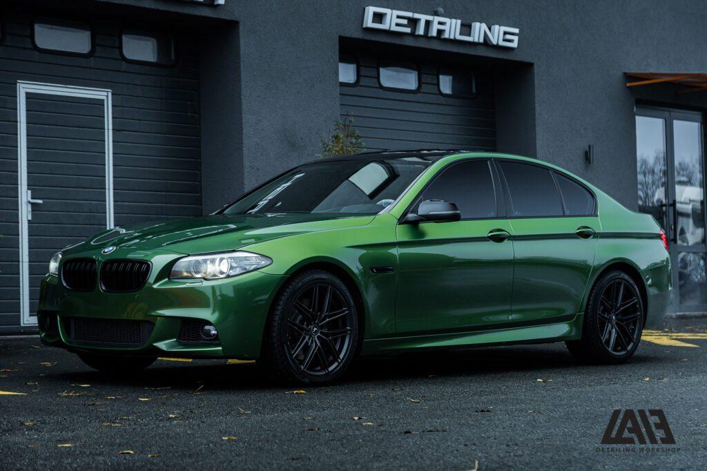 BMW 5 F10 Inozetek Mamba Green