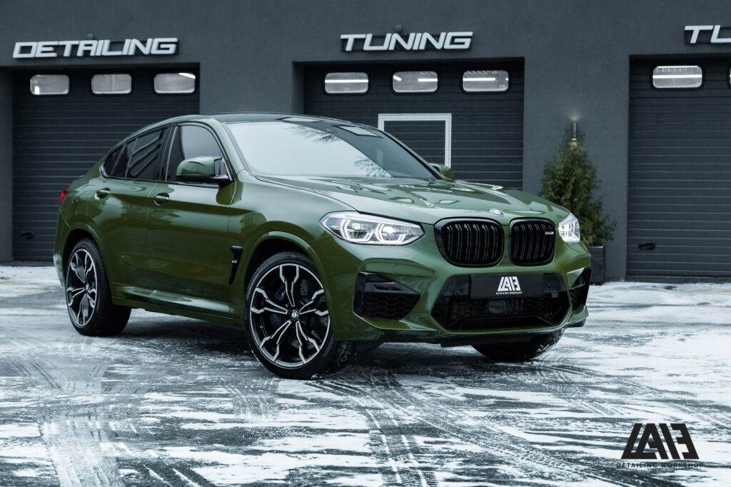 BMW X4M Inozetek Army Green