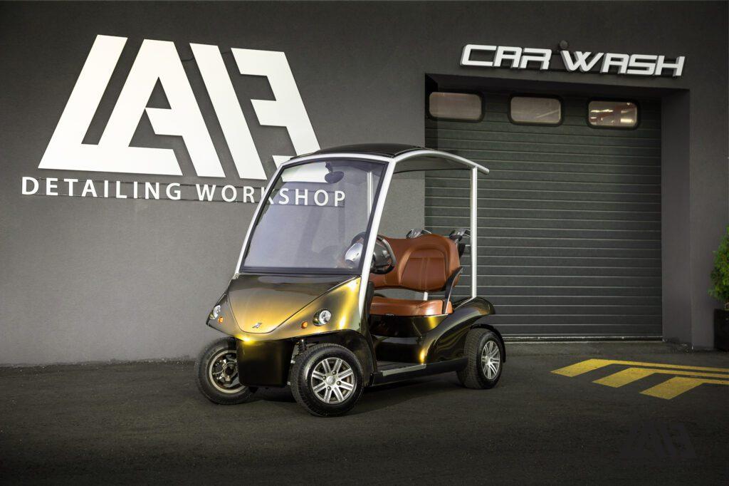 GolfCar Inozetek Metallic Midnight Gold