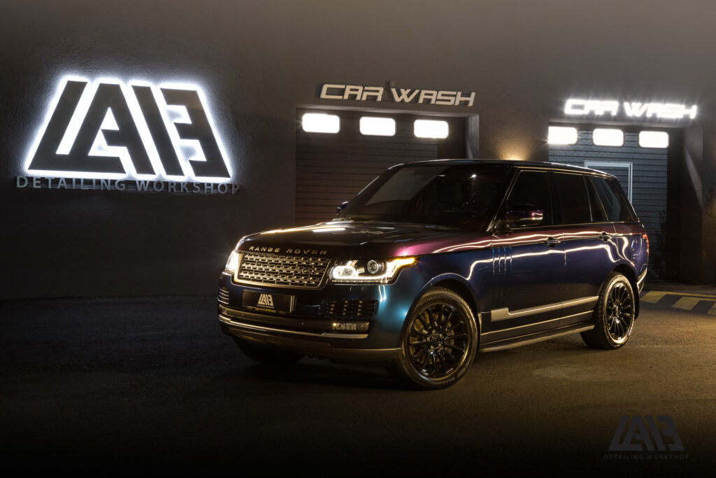 Range Rover Two Colors