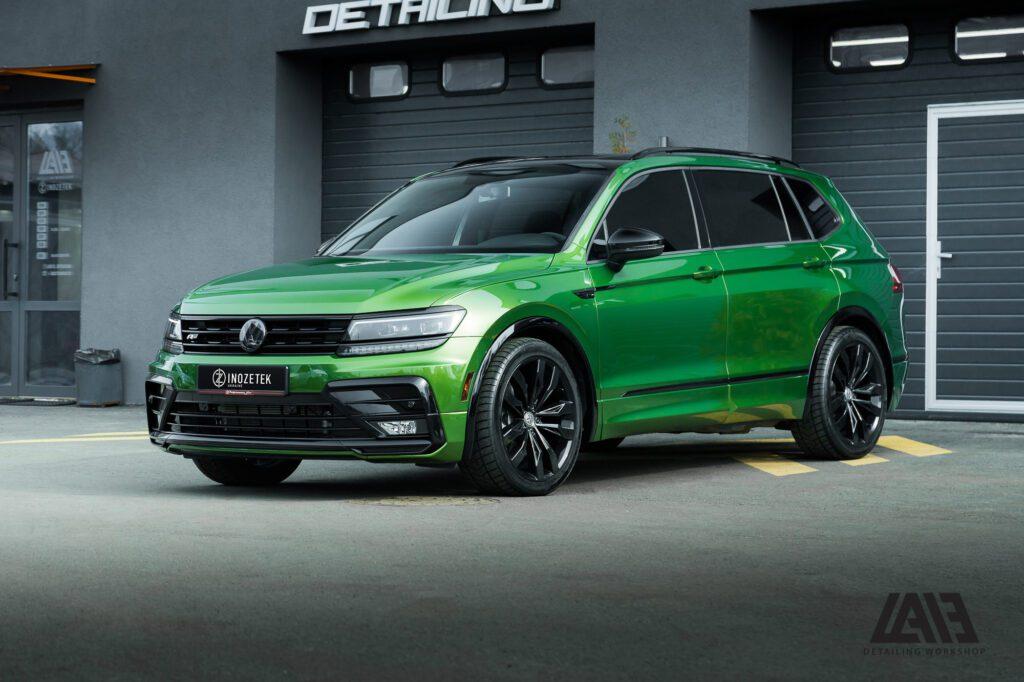 Volkswagen Tiguan Inozetek Mamba Green
