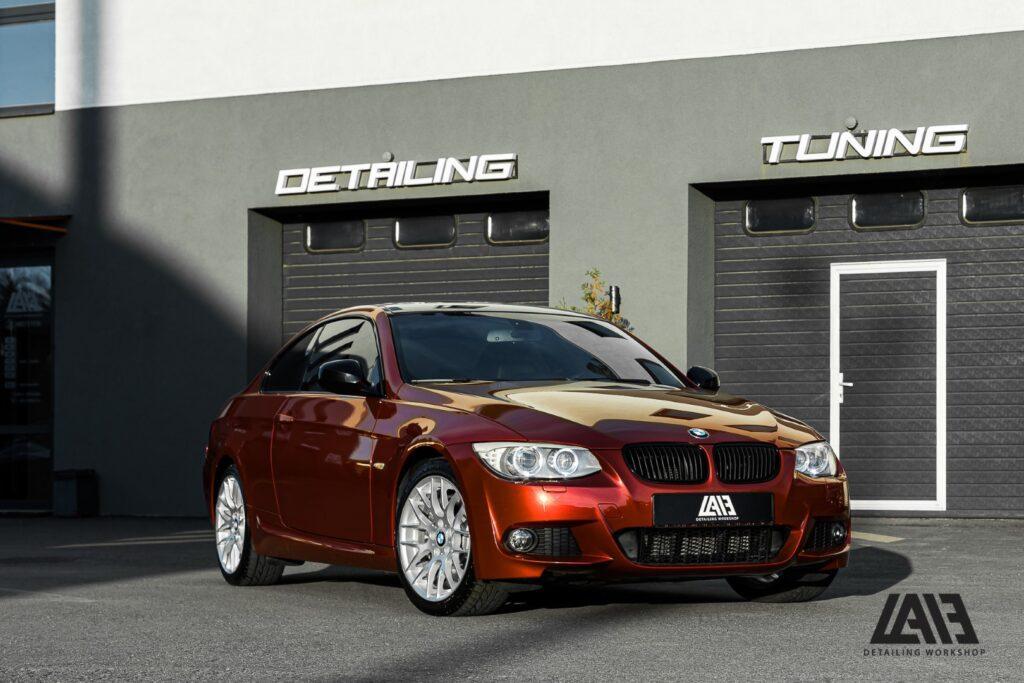 BMW 3 INOZETEK Midnight Red