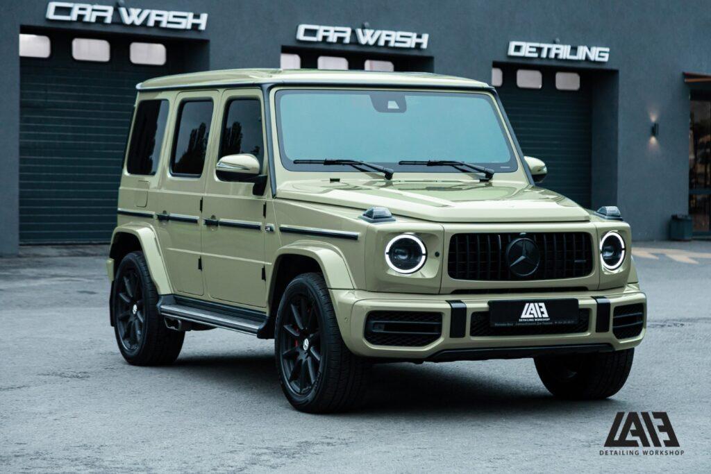 Mercedes Benz G63 INOZETEK Khaki Green