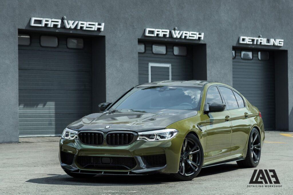 BMW M5 INOZETEK Army Green
